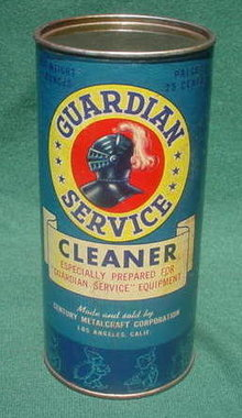 1950's Unopened Guardian Service Guardian Ware Cleaner