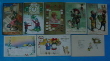 Early New Years Postcard Collection