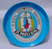 St. Pauli Brewery, Breman German Beer Tray