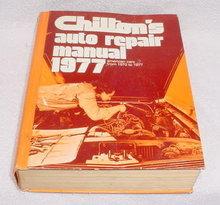 1977 Chilton Auto Repair Manual