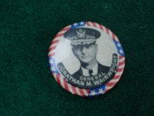 Gen. Wainwright Potrait Pinback