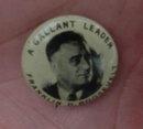 Franklin Roosevelt Potrait Pinback
