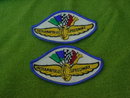 Pr. of Indianapolis Speedway Patches