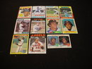 Rod Carew Baseball Card Collection