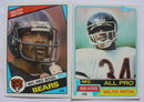 Walter Payton Chicago Bears Football Cards