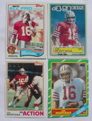 Joe Montana Football Cards