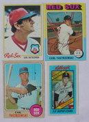 Carl Yastrezemski Boston Red Sox Baseball Cards