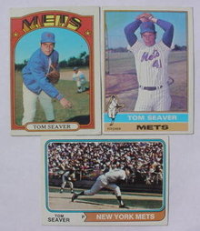 Tom Seaver Baseball Card Collection