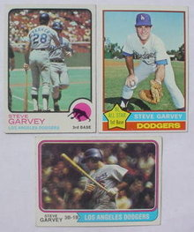 Steve Garvey L.A. Dodgers Baseball Cards