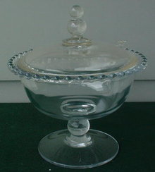 Imperial Candlewick Ftd. Candy Jar & Cover