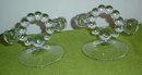 Pr. Imperial Candlewick Twin Candleholders