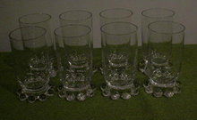 (8) Imperial Candlewick Juice Tumblers
