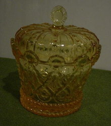 Fostoria Crown Candy Dish & Cover