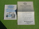 1950's Minnow Keeper w/Org. Box & Instructions