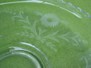 Imperial Candlewick Floral Etch Float Bowl