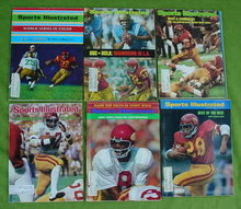 Old USC Football Sports Illustrated's