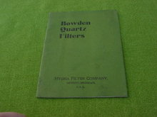 Early 1900's Hygeia Filter Co., Catalog