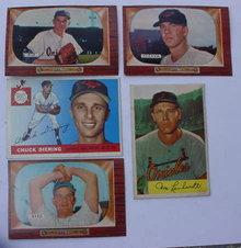 Baltimore Orioles 50's Baseball Cards