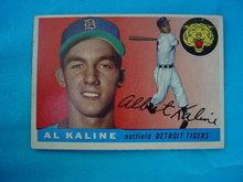 1955 Topps Al Kaline Baseball Card