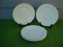 6 Dinner Plates Adams Antique Steubenville