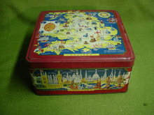 Early English Bisquit Tin