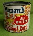Older Monarch Caramel Corn Tin