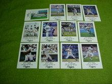 1981 Los Angeles Dodgers LAPD Card Set