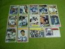 Dallas Cowboys Football Cards 1970's & 80's