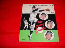 1973 San Francisco Giants Scorecard Book