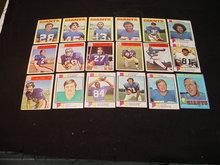 60's-80's N.Y. Giants Football Cards