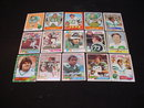60's-80's New York Jets Football Cards