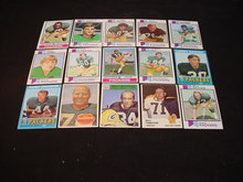 60's-80's Green Bay Packers Football Cards