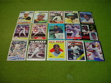 Dave Winfield Baseball Card Collection
