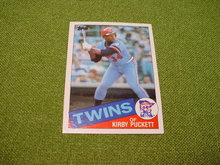 Kirby Puckett Minnesota Twins Baseball Cards