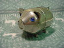 Chrome Pig Bank