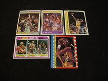 Kareem Adbul-Jabbar Basketball Cards