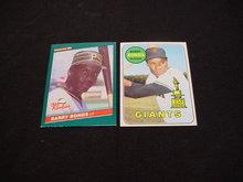 Barry & Bobby Bonds Rookie Cards