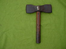 Early Hand Forge Double Hand Axe