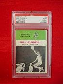 1961-62 Fleer Bill Russell In Action Card PSA 9 (OC)