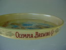 Matching Pr. of Olympia Beer Adver. Trays