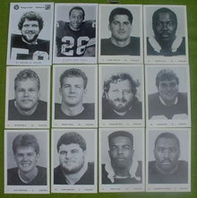 Older Pittsburgh Steelers Player Photos w/Jack Ham Auto.