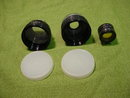 Alpex 3 Lens Set w/Org. Case--Wide Angle, Telephoto, Etc
