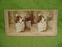 Early Stereoview Card Black Mammy w/Child