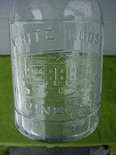 Old White House Vinegar Jar