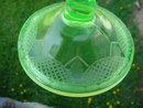 Pr. of Cambridge? Green Twist Candleholders