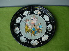1960's Comic Joe Carpenter Poker Beer Tray
