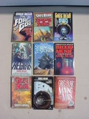 Greg Bear Sci-Fi Book Collection