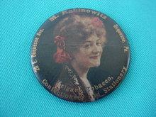 M. Rabinowitz Duquesne, Pa. Adver. Cigar/Tobacco Pocket Mirror