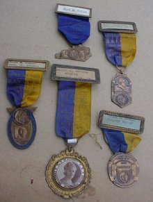 Collection of Old DAV Convention Medals