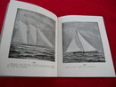 1899 America's Cup Booklet Yacht Racing